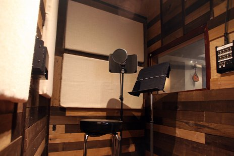 NYC Recording Studio Vocal Booth